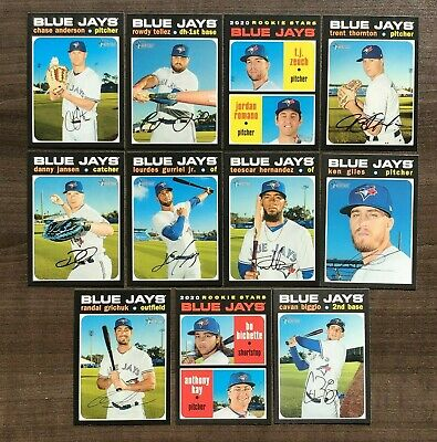 2020 Topps Heritage Base Team Sets ~ Pick your Team