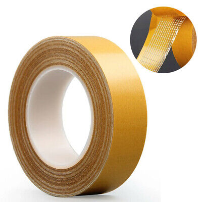 20M Super Strong Double Sided Tape Glass Fiber Extra Adhesive Sticky Craft TOP