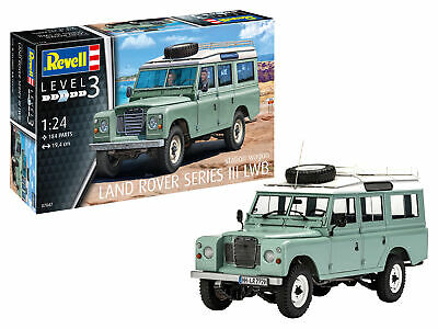 Revell 1/24 Land Rover Series III LWB Station Wagon # 07047