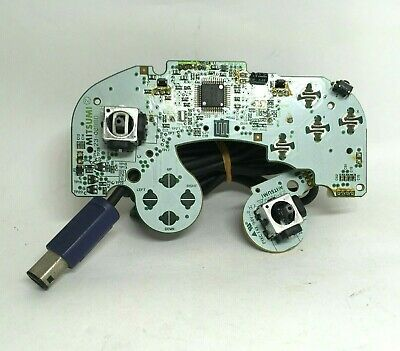 Nintendo Gamecube Controller Mother board Indigo DOL-003 Replace Part Working f3