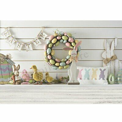 Baby Easter Theme Photography Backdrop Photo Background Prop 7x5ft 5x3ft A