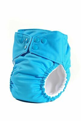 6 Cloth Diapers All in One Reusable with Organic Soaking Pad Made in USA