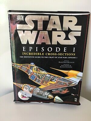 Star Wars Episode 1 Incredible Cross-Sections Book 1999