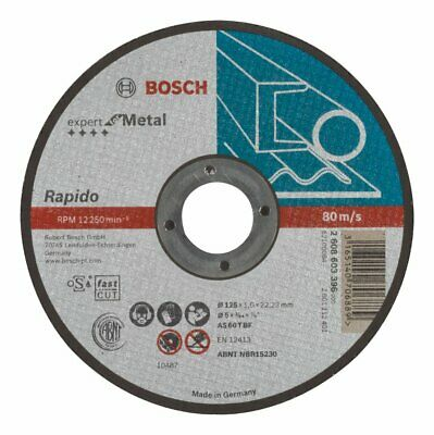 Bosch Professional 2608603166 Standard for Metal Straight Cutting disc