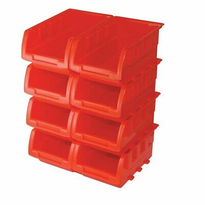Slverlne 250968 Stackng Boxes Set, 165 x 105 x 75 mm - 8 Peces