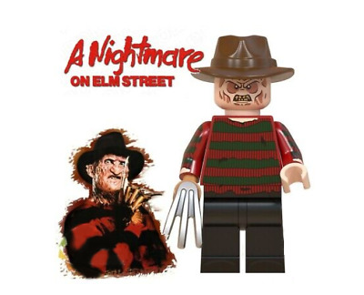 Scary Lego Serial Killer With Chainsaw New Collectable Moc Minifigure