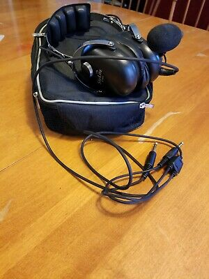 Gift Bag GENUINE SkyLite SL-800 Foldable Compact Design Pilot Aviation Headset