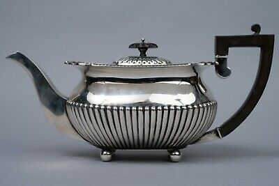 Teekanne 925 Sterling Silber 800 Gramm William Hutton & Sons Sheffield England