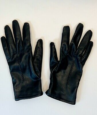 TOUCHPOINT Smart Gloves ~ Black  ~ Shell Leather ~ Women's ~ Small S