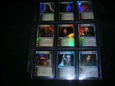 DECIPHER 2003 LORD OF THE RINGS TCG CCG COUNTDOWN COLLECTION 19 CARD PROMO SET