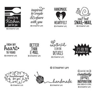 Stampin Up Better than Email - SINGLE stamps good for Angel Policy copyright