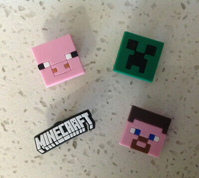 Minecraft Mixed PVC Shoe Charms for Crocs and Jibbitz