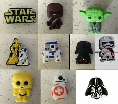 Star Wars Mixed PVC Shoe Charms for Crocs and Jibbitz