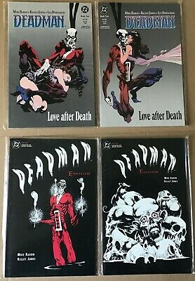 DC Comic Graphic Novel TPB 1989 Deadman Love After Death #1 /& #2 Set Mike Baron