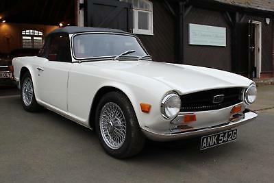 Lhd 1969/G Triumph Tr6 Manual White