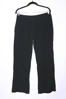 Patagonia Womens Hiking Pants Lightweight Outdoor Roll Up Leg Black size 8 #A346