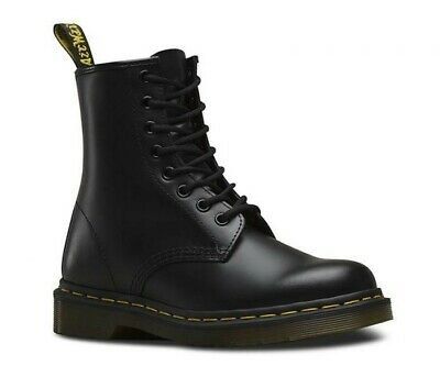 Dr. Martens Womens 1460 8 Lace Up Leather Boots Shoes Doc Martins - Smooth