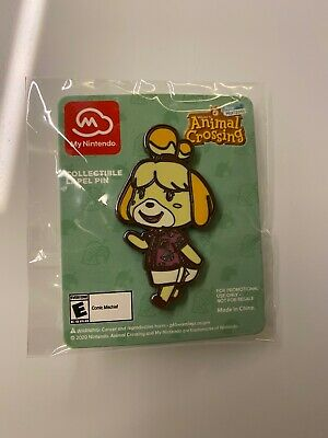 PAX East 2020 Animal Crossing: New Horizons Isabelle Enamel Pin Nintendo Switch
