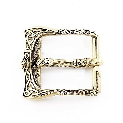 Norse//Norway//Celtic//Pagan//Knotted//Art//Clothing//Hardware Viking Belt Buckle Set