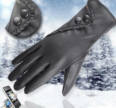 Fashion Lady Soft Leather Gloves