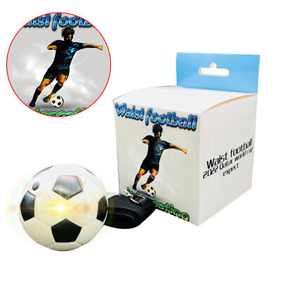 Football Practice Aid Self Training Kick Trainer Aid Equipment Waist B S5Y