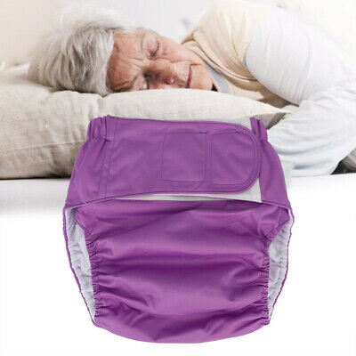 Adult Large Cloth Diaper Nappy Reusable Washable Adjustable Incontinence  Pad