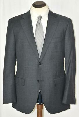 MINT Worn Once SuitSupply Napoli Super 110's Flat Front Side Vent Grey SUIT 42 R