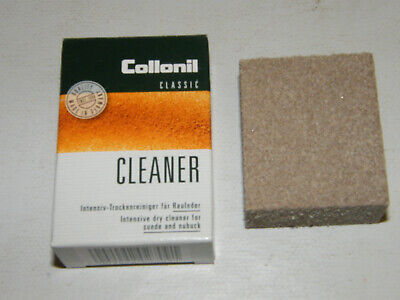 Collonil Suede Cleaner Intensive Dry Clean Suede Leather Cleaning Sponge