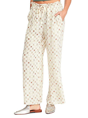 Intimately Free People Women's Moonshadow Printed Sleep Pant (Seashell Combo)