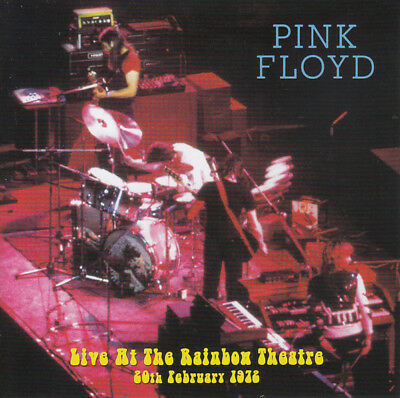 "Pink Floyd: "" Live in Rainbow Theatre 1972 "" (Rare 2 CD)"