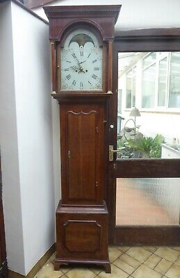 8 Day Oak Grandfather Clock Needs Some Attention No Reasonable Offer Refused
