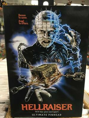 """NECA Toys Hellraiser Ultimate Series Pinhead 7"""" Action Figure =FREE SHiPPiNG="""