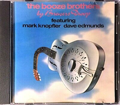 Cd Album Brewers Droop Feat Mark Knopfler Dire Straits The Booze Brothers 1989