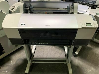 "Epson Stylus Pro 7880 24"" Wide Format Printer Plotter -Crated & Full Ink Set 220"
