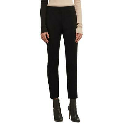 DKNY Womens Black Faux Suede Pull On Skinny Pants Trousers XL BHFO 5816
