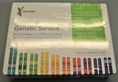 23 & Me Personal Genetic Service Saliva Collection Kit - SEALED