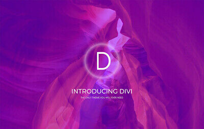 Divi Wordpress Theme Lifetime Access Licence