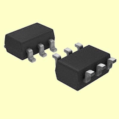 4 pcs. FDC5614P  Fairchild  MOSFET P-Channel  60V 3A  SOT23-6  #BP
