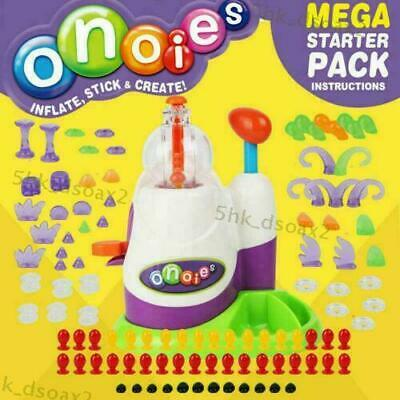 Oonies Mega Starter Pack Kid Creative Craft Learning Activity Inflator Toy NEW