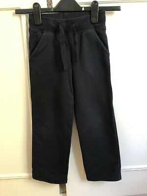 M&S Kids Navy TrackSuit Bottoms Unisex 4-5 Years