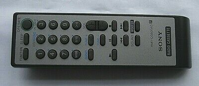 SONY RMT-CG500AD CD Radio Cassette Recorder CFD-G70 & more