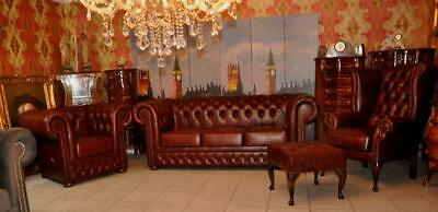 Chesterfield Classik King Queen  ,Club Set 4 Teile