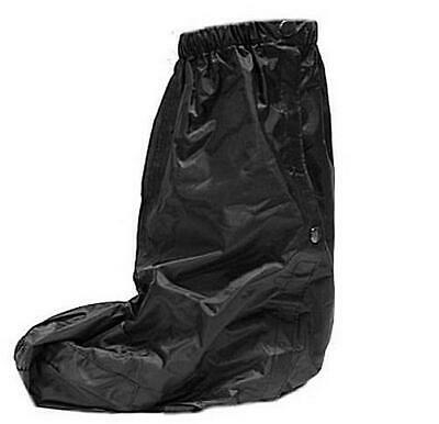 Dream Apparel Waterproof Motorcycle Bike Rain Boot Covers Over Boot Size S/M