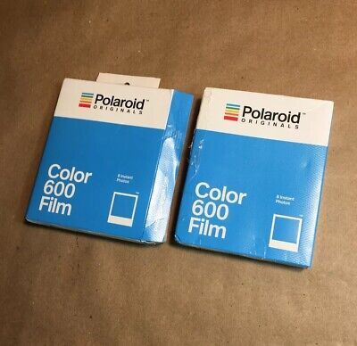 2 New Polaroid Originals Color 600 Films: 1 Sealed; 1 Open Box