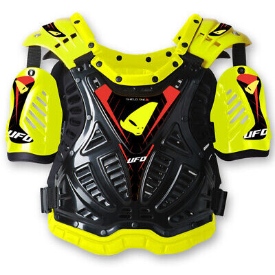 UFO Shield One Adult MX Chest Protector - Yellow