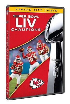 Super Bowl LIV Champions: Kansas City Chiefs DVD 2020 BRAND NEW FAST SHIPPING