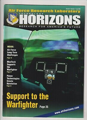 Technology Horizons Mag Support Warfighter June 2003 021920nonr