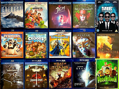 🎖Dvd Lot Muppets Jurassic Peanuts Penguins Gravity Hobbit Everest Alvin Pets