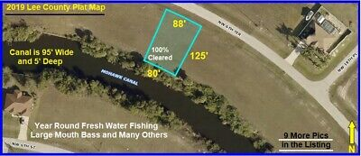 3rd WATERFRONT FLORIDA CAPE CORAL Lot Naples Land Ft Fort Myers Port Charlotte