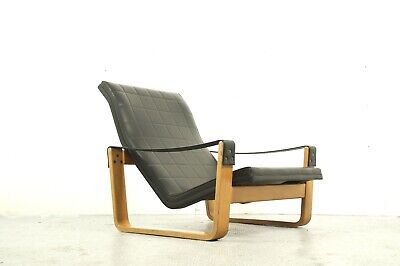 vintage Pulkka lounge  chair design Ilmari Lappalainen for Asko
